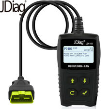 Car Code Reader Tester OBD2  Scanner Automotive Fault Diagnostic Tool JDiagJD101
