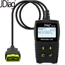 Car Code Reader Tester OBD2  Scanner Automotive Fault Diagnostic Tool JDiagJD101