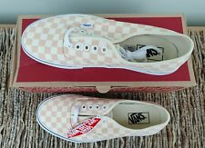VANS Authentic - Checkerboard Apricot (Unisex) - UK 8.5