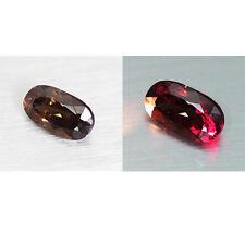 5.34cts Mind Blowing Natural 100% Color Change Garnet  Loose Gemstone