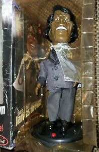 Dancin' Shoutin' Singing James Brown Electronic Animated Toy by Gemmy  FOR PARTS