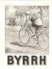 1934 Publicite Aperitif BYRRH, Cyclisme,Georges Leonnec