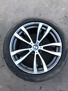 GENUINE BMW X5 F15 M SPORT REAR ALLOY WHEEL 20'' WITH TYRE 315/35/20 7846791 W2