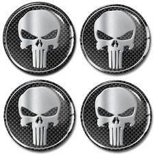 75 MM 4x Silicone Hub Caps Sticker Iron cross Iron cross Emblem