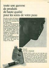 Publicité ancienne produit de beauté crème Nivéa 1970 issue de magazine