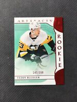 2019-20 UPPER DECK ARTIFACTS TEDDY BLUEGER ROOKIE RUBY RED #ed 147/399