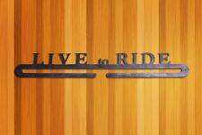 "18"" Bicycle Bike Race Medal Hanger Mountain Road Time Trial Metal Rustic Art"