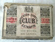 VINTAGE-CLUB FABRICATION ESPECIALE ROLLING TOBACCO PAPERS-100 PACKS W ORG BOX