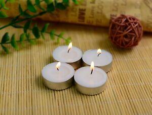 Tea Lights 4 Hour Night Light Candles Unscented Tealights 100 /200/300/400