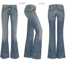 SAMPLE SALE Chloe Chloé Net-a-Porter RUNWAY Mid-Rise Wide Leg Denim Jeans 2 T36