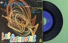 LOS CASANOVAS / A La Brava / HISPAVOX HA 037-10 Pressing Spain 1960 EP 45rpm VG