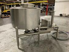 150 Gal Bcast Liquefier, 304 S/S, 75 Hp