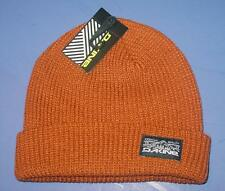 New Licensed Dakine Cuffed Brown Beanie Hat  RARE Last Ones! CRM