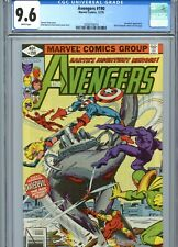 Avengers #190 CGC 9.6 White Pages Byrne Cover & Art Marvel Comics 1979