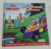 Bendon Disney Junior Mickey ( Gone Fishin) English/Spanish Book
