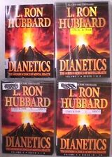 "L RON HUBBARD, 16 DISCS + BOOK - ""DIANETICS""  Scientology  Vols 1-3 DVD SET"
