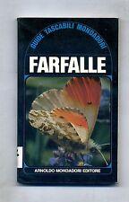 FARFALLE - GUIDE TASCABILI MONDADORI # Mondadori 1976 1A ED.