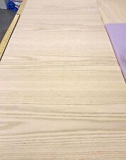 "Red Oak wood veneer 48"" x 24"" with paper backer 1/40"" thick (48"" across grain)"