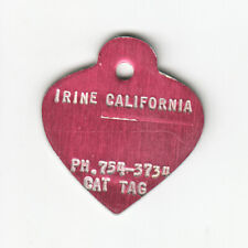"Error Cat Tag - Undated Irvine California With No Number Mispelled ""Irine"""