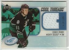 2005-06 Upper Deck Ice Cool Threads Glass #CTCP Corey Perry RC-year JSY 70/100