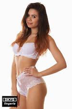 DONATELLA ensemble de lingerie soutien-gorge shorty coloris blanc taille 90D/M