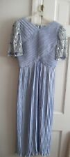 GEORGE COUTURE  LADIES DRESS SIZE 6 LILAC PRE-OWNED