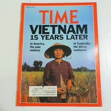 Time Magazine April 30 1990 Vietnam Madonna Greta Garbo H1