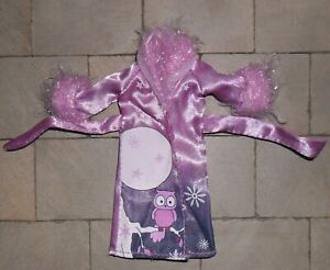 1/12TH SCALE DOLLS' CHILDS SATIN DRESSING GOWN