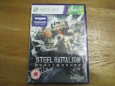 Steel Battalion: Heavy Armor (Xbox 360) Combat game kinect complete