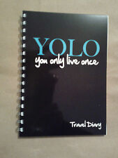 Travel diary YOLO quote