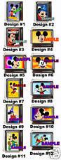 Disney Mickey Mouse Custom Italian Charm Choose! many