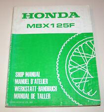 Werkstatthandbuch Honda MBX 125 F (Typ JC 10) -  Stand 1984!