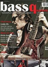 Bass Quaterly # 2011 3 -Glenn HUGUES- Linda Oh, David M. Santos, Fender Waters