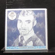 """Nathan Ellis - S/T 7"""" Mint- NSR057 Vinyl 45 No Sleep Records Blue Vinyl 2012"""