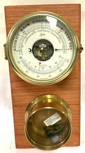 Schatz Brass Ships Compensated Precision Barometer