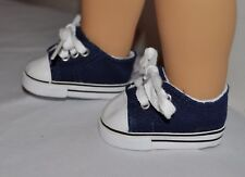 AMERICAN STYLE DOLL SHOES  FOR 18 INCH  GIRL DOLLS DRESS LOT  BLUE  SHOES