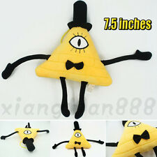 "7.5"" New Anime Gravity Falls Bill Cipher Boss Stuff Plush Toys Dolls Kawaii Kid"