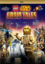 Star Wars 5 Episodes LEGO Droid Tales on DVD with Slipcover and Trading Card Set