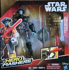 Star Wars Hero Mashers Rebels Fifth Brother The Inquisitor Deluxe Figure New
