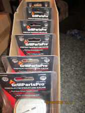 CASE OF 6 GRILL PARTS PRO Universal BBQ Grill Replacement Temperature Gauges