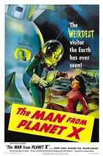Man From Planet X Poster 01 A2 Box Canvas Print