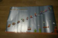Lot of 3 Club Nintendo Super  Mario's History Poster Set from 2010