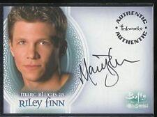 Buffy Men Of Sunnydale Autograph A2 Marc Blucas Riley