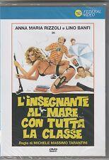 """LINO BANFI,ANNA MARIA RIZZOLI FILM """"L'INSEGNANTE AL MARE..""""DVD NUOVO SIGILLATO!"""