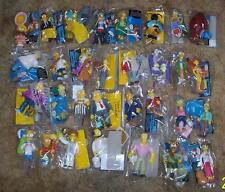 Playmates Simpsons lot Huge Collection of 48 Different figures 16 Playsets