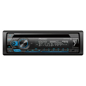 Pioneer DEH-S4220BT CD Receiver w/ Improved Pioneer Smart Sync App Compatibility