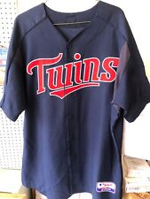 Authentic Minnesota Twins Game Issued Game Used Majestic NAVY Jersey #73 Sz 50
