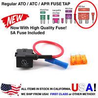 Lumision Fuse Tap Regular ATO ATC APR w/ 5A Add-A-Circuit Dash Cam Radar DIY Car
