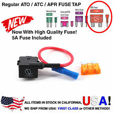 Lumision Fuse Tap Regular ATO ATC APR w/ 5A Add-A-Circuit Dash Cam Radar DIY Car