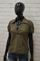 Camicia MARLBORO CLASSICS Donna taglia M Maglia Blusa Shirt Woman Manica Corta